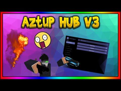AZTUP HUB (PAID HUB) - TEST ON JAILBREAK, KAT, ARSENAL