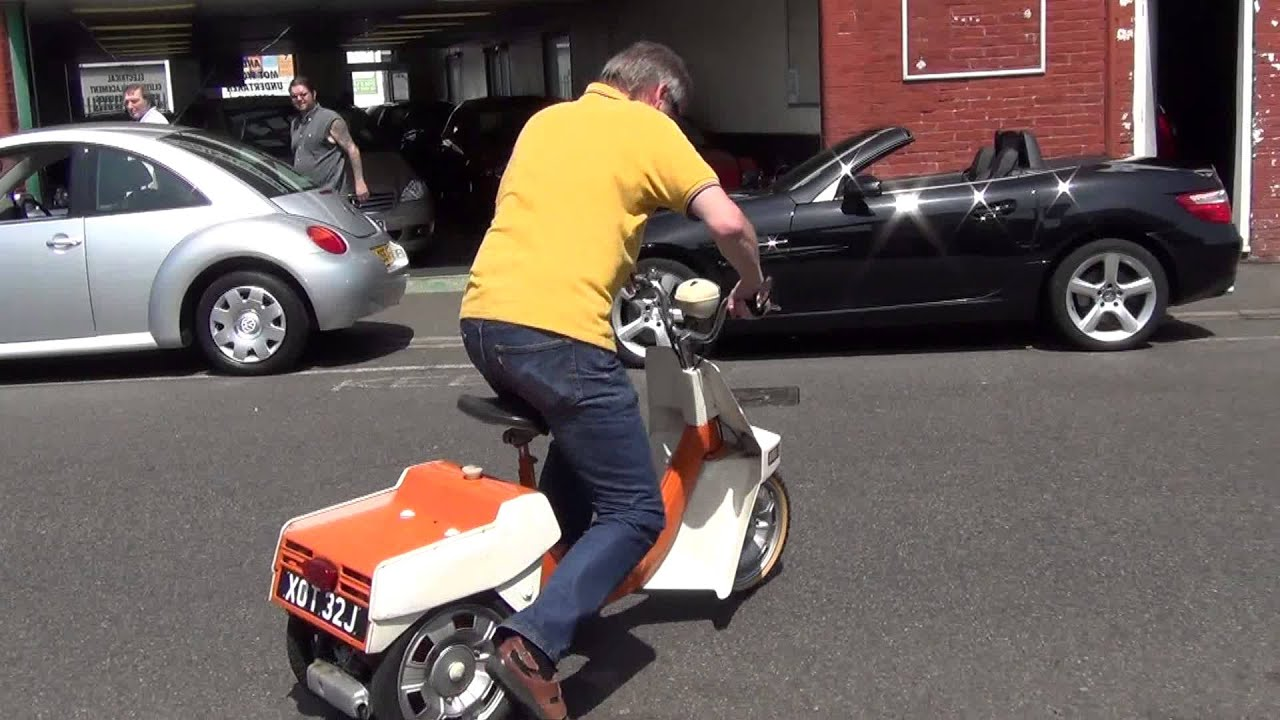 Trojan Cars Classic Bsa Ariel 3 1970 Scooter Youtube