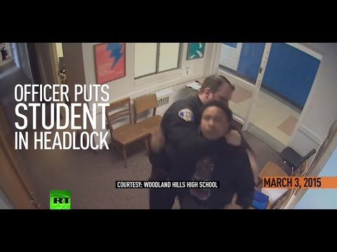 'I'm an attorney, but also a human': Police officer assaulting teen at high school caught on camera
