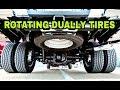 Rotating Dually Pickup and RV Tires