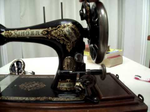 How To Clean And Oil A Vintage Sewing Machine Part 40 YouTube Custom How To Clean Sewing Machine