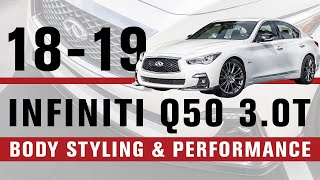 homepage tile video photo for 2018 Infiniti Q50 3.0t Red Sport 400 | STILLEN Edition