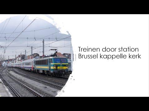Een uurtje op station Brussel Kapellekerk