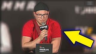OCHRONIARZ LORDA KRUSZWILA NA KONFERENCJI FAME MMA 4!! *ja się czuję pewny*