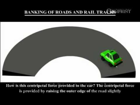 4.2 Banking of roads and railway tracks