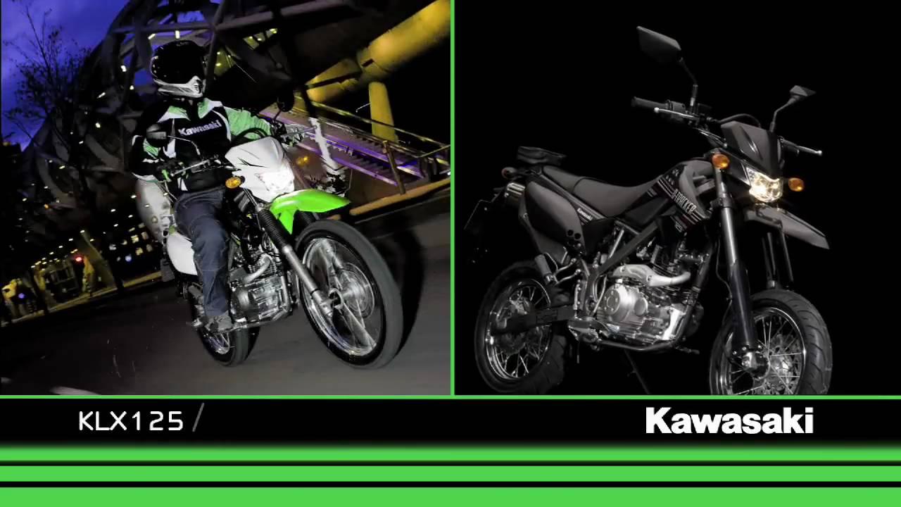 Kawasaki Klx125 D Tracker 125 2010 Youtube Kmx Wiring Diagram