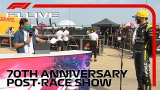 F1 LIVE: 70th Anniversary GP Post-Race Show