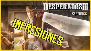 Vídeo Desperados III