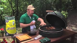 Venison Tenderloin And The Grill Grate - Cooked On The Big Green Egg