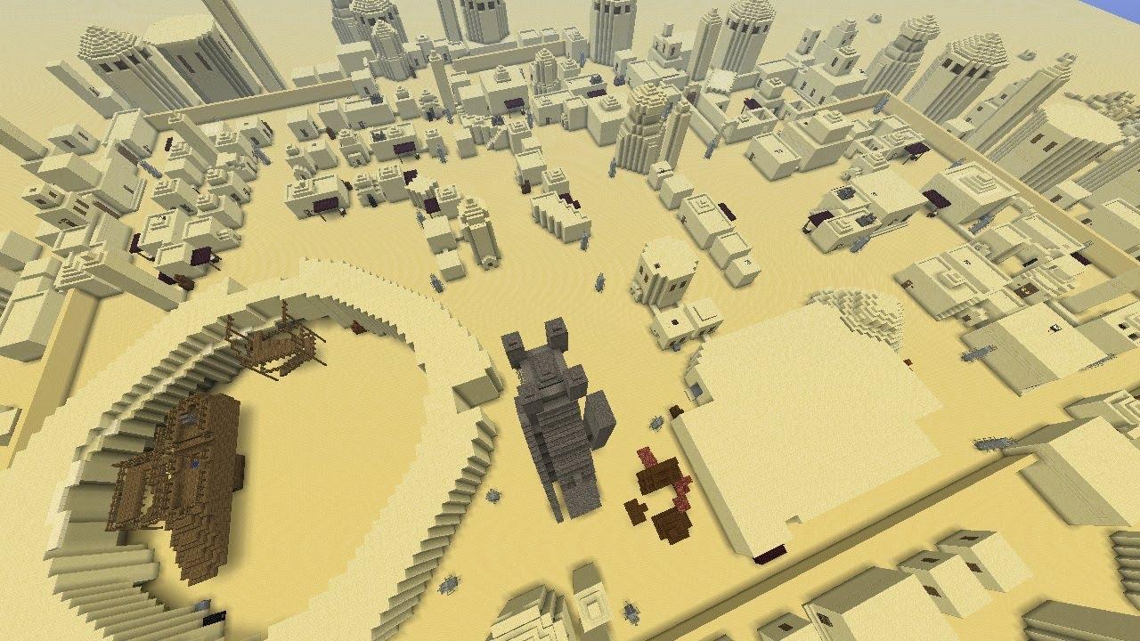 Minecraft Mos Eisley Teil 1 Youtube