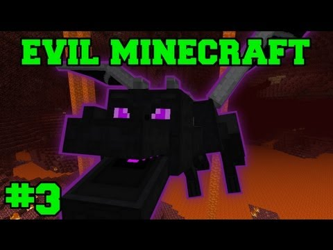 EVIL MINECRAFT! : AMAZING ORE FIND! - Episode 3 Let's Play (HARD MINECRAFT MODS)