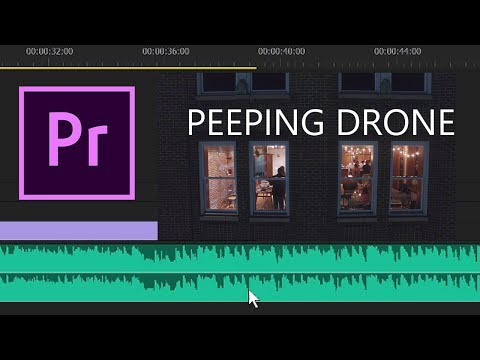 Party-Peeping Drone and Premiere Pro Tips - KEN HERON