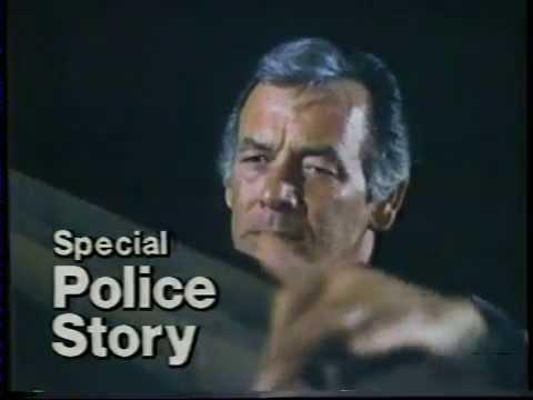Police Story 1977 NBC Promo David Janssen