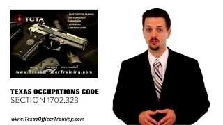 Security Training Texas- Licensed on Private Property