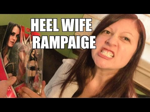 RAGING WIFE Rampage Destroys Grims WWE...