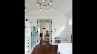 Unique Shiplap Bathroom Ideas,Nautical, Wall Interior Designs,Shiplap Walls For Modern Homes #1