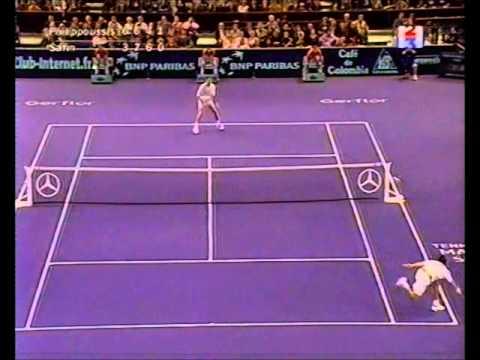 Safin vs Philippoussis Paris TMS Final 2000 HL's