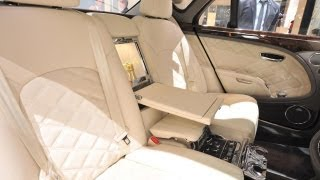 Bentley Mulsanne Executive Interior 2013 Videos