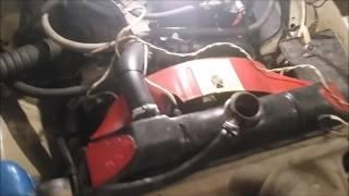видео Система охлаждения двигателя УМЗ-421, краткое описание устройства