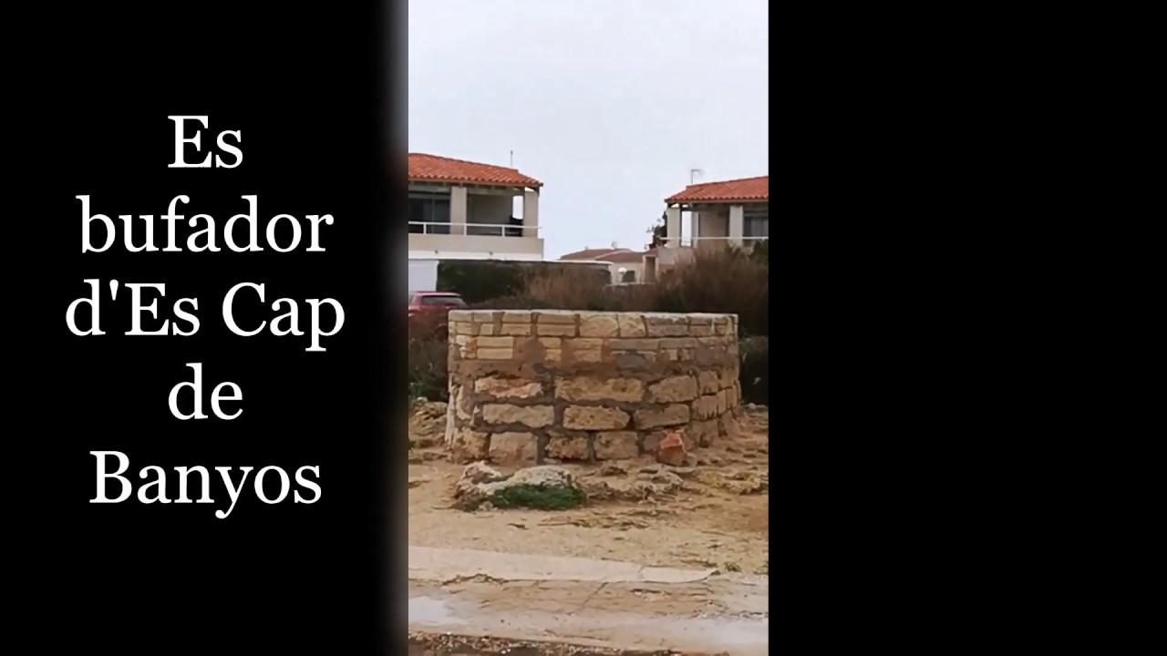 Es Bufador d'Es Cap de Banyos (Ciutadella de Menorca)