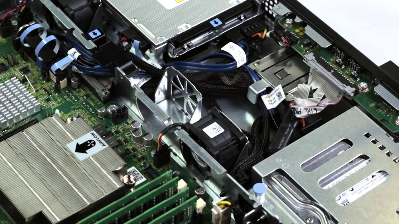 PowerEdge R220: Remove & install fans