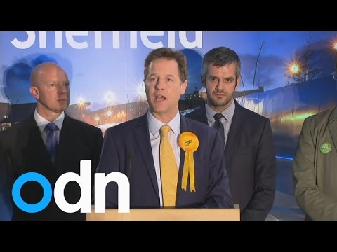 Nick Clegg holds his Sheffield Hallam seat
