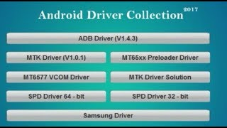 All In One Android Driver Collection 2017 | samsung | MTK | SPD | ADB | USB Driver | 2017 | Hindi