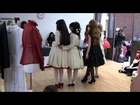 Lolita Convention Fashion Show Paris France 2012