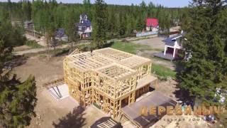 SRG | SUN RESIDENCE GROUP | Строительство каркасных домов под ключ. г.Сертолово(, 2016-06-17T13:56:40.000Z)