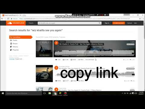 Learn How to download Music from Soundcloud In a Minute