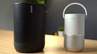Sonos Move vs  Bose Portable H…