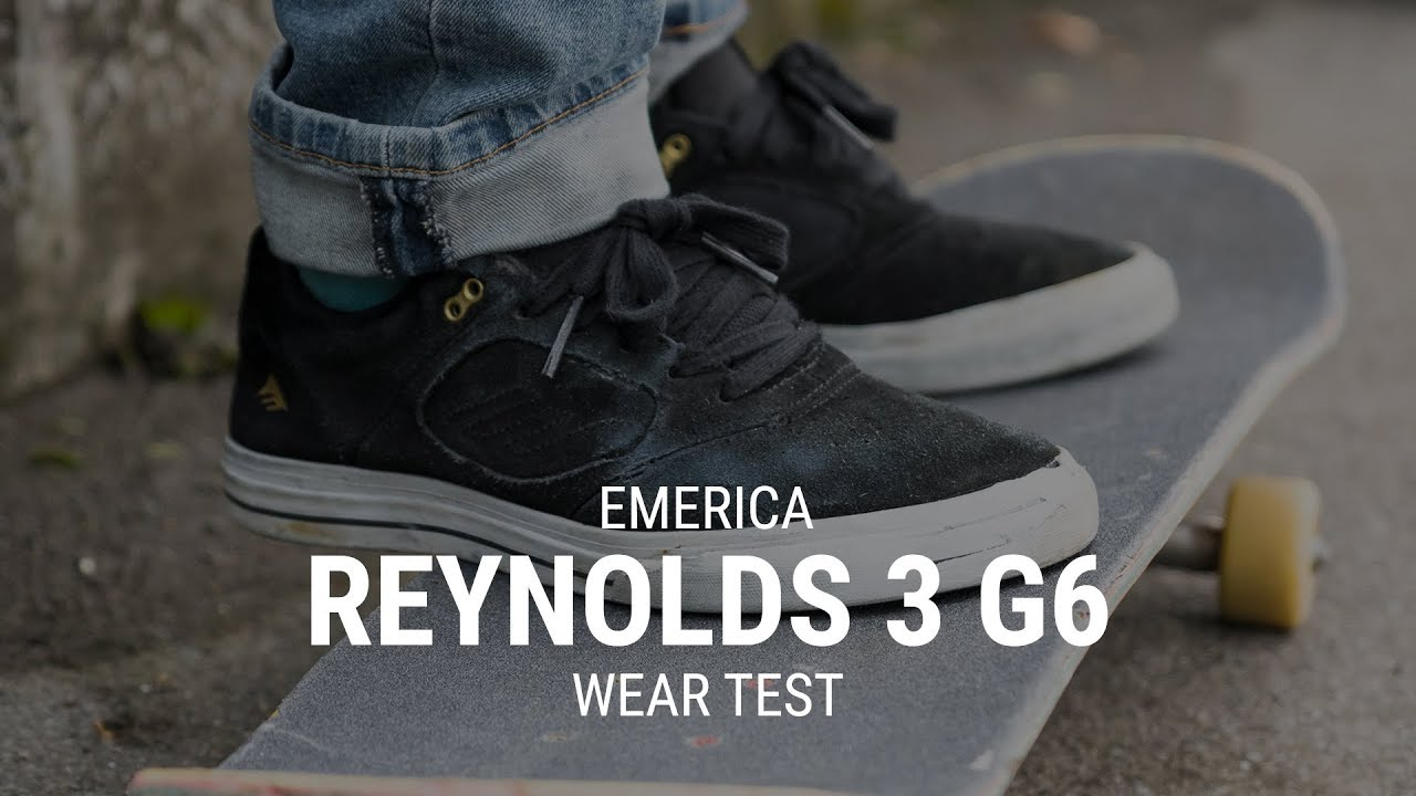 Emerica Reynolds 3 G6 Skate Shoe Wear