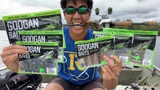 GOOGAN BAITS FISHING CHALLENGE!!! (DANGEROUS Reptile Caught!)