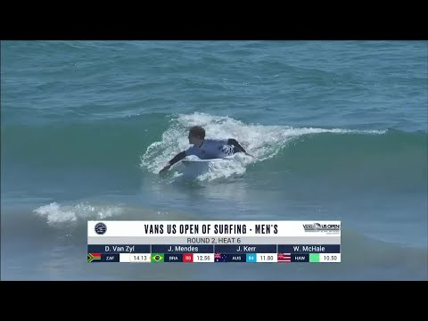Vans US Open Of Surfing - Men's, Men's Qualifying Series - Round 2 Heat 6