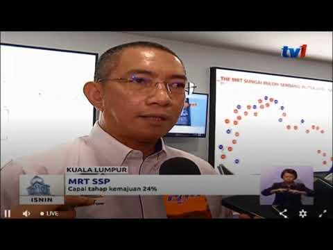 MRT SSP - CAPAI TAHAP KEMAJUAN 24% [23 APRIL 2018]