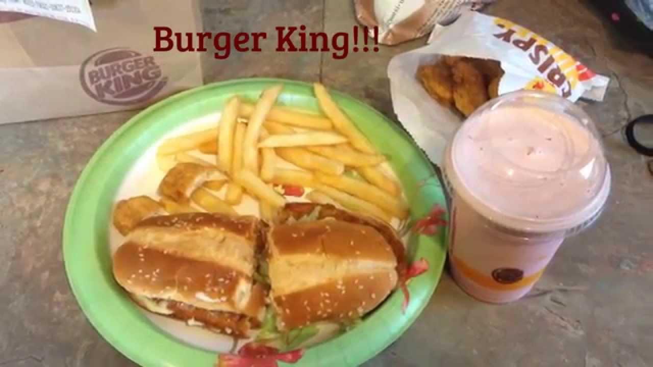 Burger King Original Chicken Sandwich Meal RB