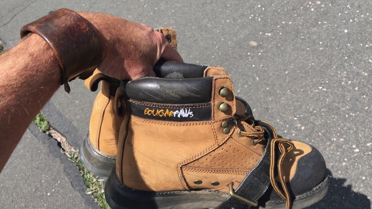 a19fa8298ee Best Roofing Shoes | Cougar Paws - YouTube