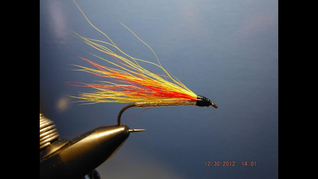 Black Ghost Streamer Tandem #4 truites mouches