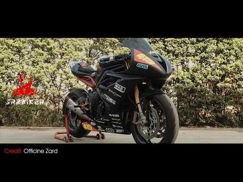 Triumph Daytona   Zard full exhaust