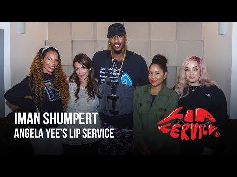 Angela Yee's Lip Service Feat. Iman Shumpert