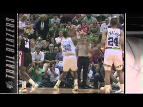 Video Yearbook: 1992 Trail Blazers - Part 4 Western Conference Finals