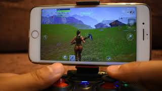 FORTNITE MOBILE APP IOS/ANDROID CONTROLLER BUTTONS SETTINGS & GAMEPLAY 100% WORKING