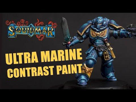 How to Paint Ultramarine Primaris Intercessor with Contrast Paints