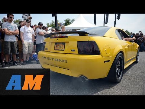 AM2014: Ford Mustang Revving Competition - AmericanMuscle Car Show