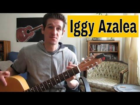Iggy Azalea - 'Started' On Guitar - Easy Beginner Lesson