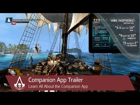 Assassin's Creed 4 companion app trailer shows how tablets can aid your piracy