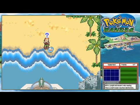Pokemon Manaphy Event Pokemon Ranger