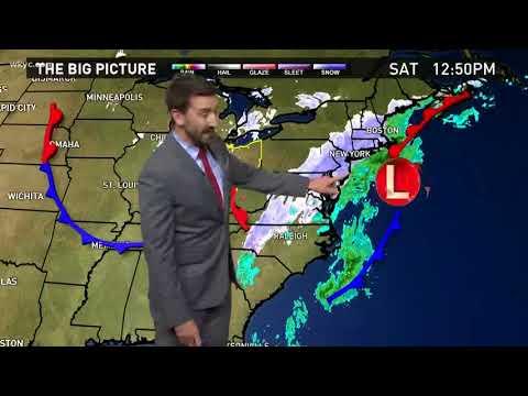 11pm Saturday Night Weather Forecast December 9 2017