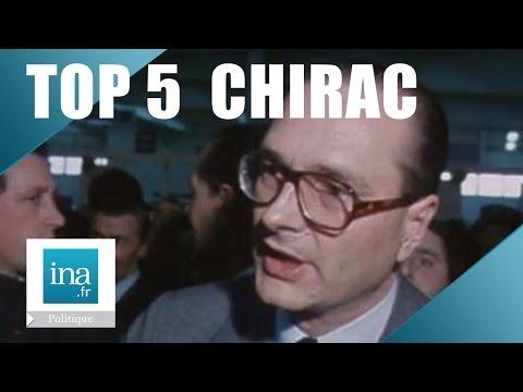 TOP 5 INA : Jacques Chirac au Salon de l'Agriculture