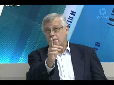 Programa Políticas - Antonio Magalhães entrevista Karl Schuster - TV Nova